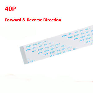 40-Pin-FFC-FPC-Flexible-Flat-Ribbon-Cable-Forward-amp-Reverse-Pitch-0-5mm-1mm