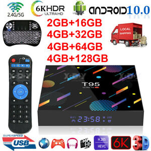 6K NEW Android 10.0 TV Box H616 QuadCore 2.4G 5G WLAN Bluetooth 5.0 LED-Anzeige