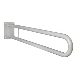 WC Griff Haltegriff Klappgriff Bad für barrierefreies  weiß 80 cm ⌀ 25 mm