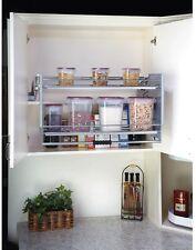 Large Pull-Down Wall Cabinet Shelf System Rev-A-Shelf Kitchen Laundry Bathroom