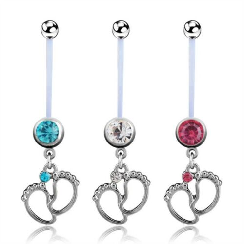 Maternity Navel Ring Pregnantcy Belly Button Ring Pregnancy Belly Button Ring