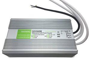 Ac230v-To-DC12V-Transformateur-Adaptateur-Alimentation-Driver-IP67-Impermeable