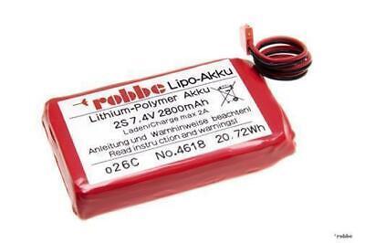 2019 Ultimo Disegno Robbe Modellsport Lipo-batteria 2s 2800mah Futaba T14sg/4618-mostra Il Titolo Originale Una Gamma Completa Di Specifiche