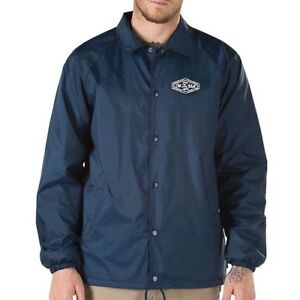 Jacket Vans Coaches Torrey Dress Blue Lockup qwYEBUO