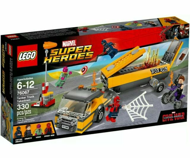 New Lego Marvel Super Heroes 76067 Tanker Truck Takedown Sealed