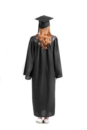 Graduation Cap and Gown 2020 Tassel College or High School Black Matte Unisex