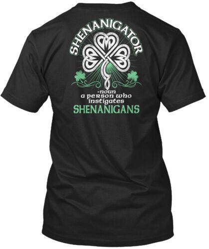 noun A Person Who Standard Unisex T-shirt Shenanigator Latest Irish