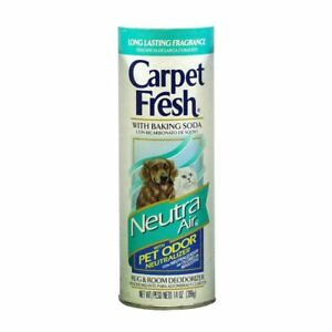 Details About Carpet Fresh Rug Room Deodorizer W Baking Soda Neutra Air Pet Odor Remover