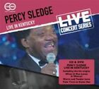 Live in Kentucky 5018755508417 by Percy Sledge CD With DVD