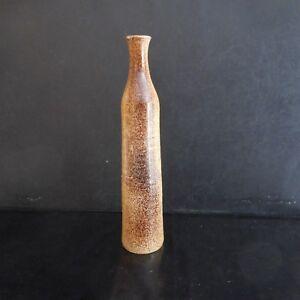 Jarrón Brote Cerámica Barro Cocido Diseño Siglo Xx Arte Nuevo Deco PN Francia