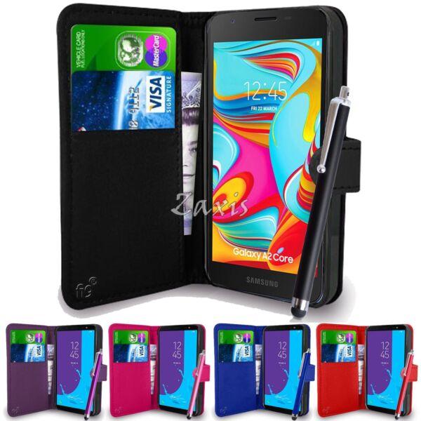 Étui Portefeuille Pu En Cuir Housse Pour Samsung Galaxy A2 Coeur A260 Portable