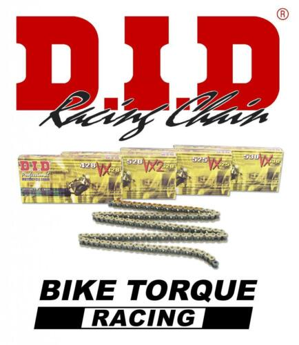 Honda VFR800F E 14-15 DID 525 Pitch 110 Link Recommended Chain