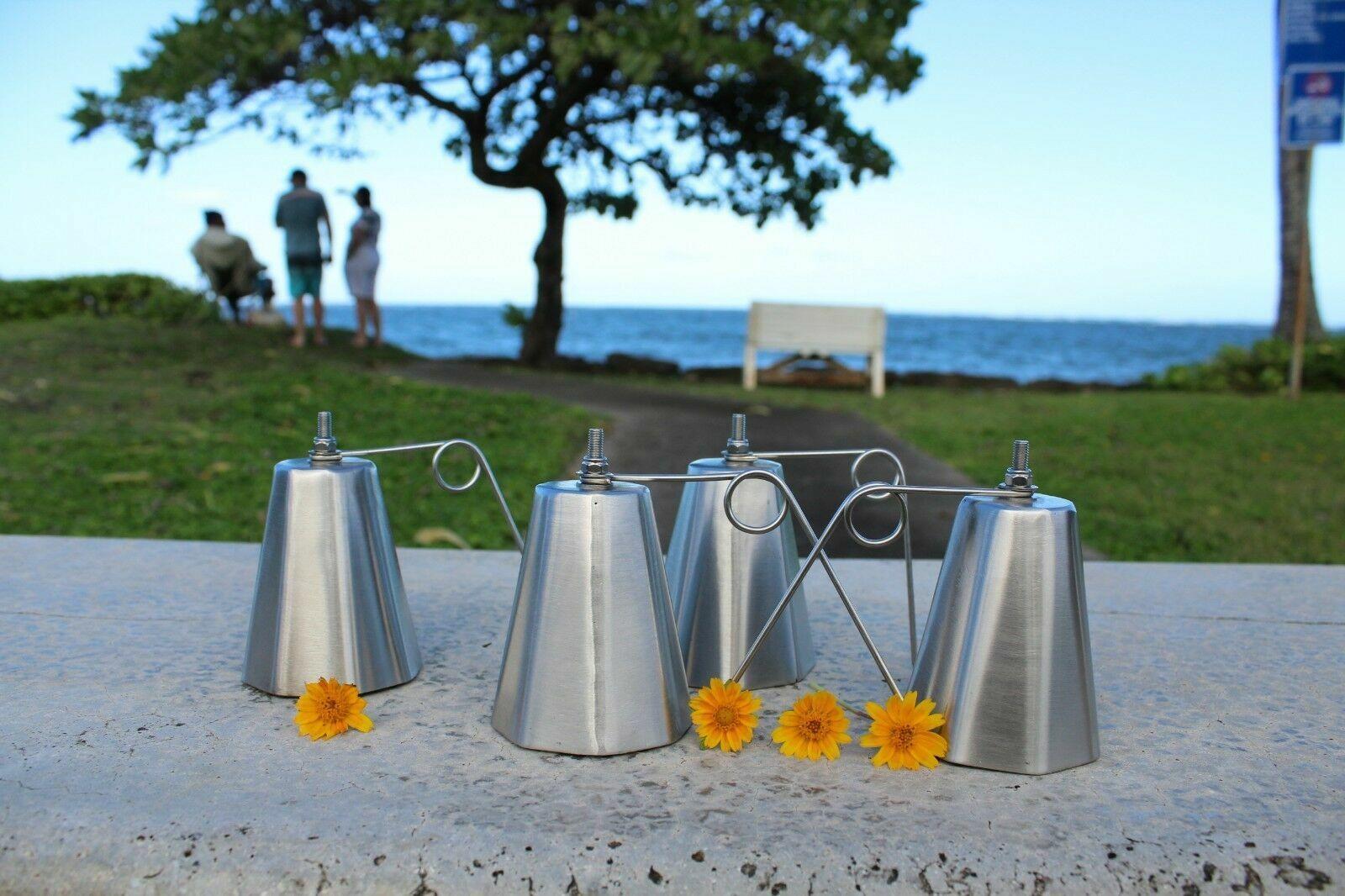 5 campanas Ulua Octagon, Pesca  Campanas, Acero Inoxidable, 0.035 pulgadas  nuevo estilo