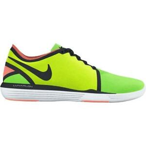 newest b51d5 f6cf6 Image is loading Womens-NIKE-LUNAR-SCULPT-Voltage-Green-Trainers-818062-