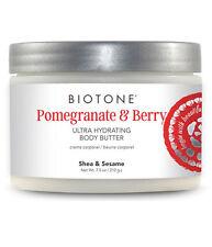 Biotone Spa Ultra Hydrating Body Butter 7.5oz Jar - Pomegranate & Berry