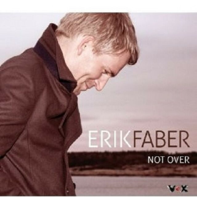 "ERIK FABER ""NOT OVER"" CD NEW"