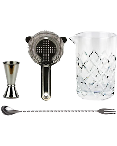 Image Is Loading Old Fashioned Barware Kit Stainless Steel Cocktail Kit