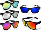 Stylish Wayfarer Sunglasses - Coloured Mirror Lens - Mens/Womens - Great Quality