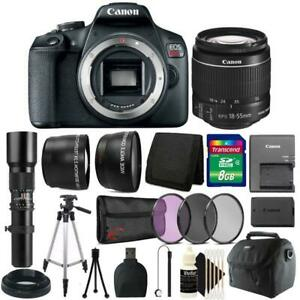 Canon-EOS-Rebel-T7-DSLR-Camera-18-55mm-500mm-Lens-Accessory-Kit