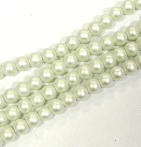 Perles De Verre Mat 10 mm en différentes couleurs Neuf!! Bacatus Prix marteau!!