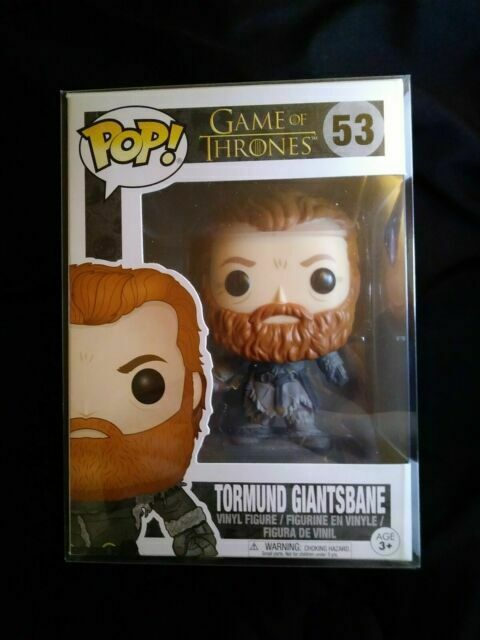 Game Of Thrones Funko Pop Television 2016, Toy NEU Tormund Giantsbane