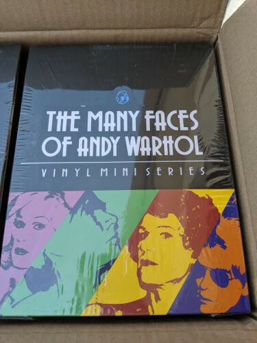Kidrobot Many Faces Of Andy Warhol Mini Figure Series SEALED CASE