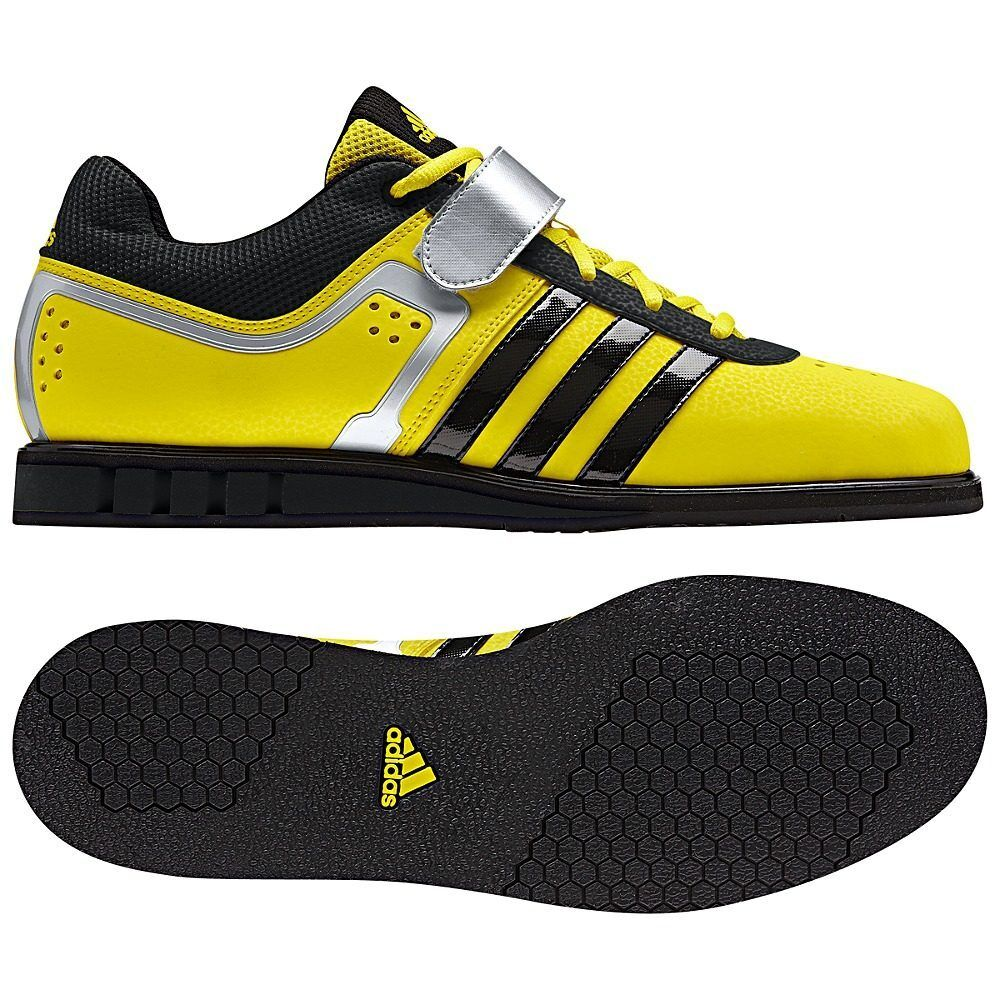 Adidas Powerlift 2 Weightlifting Power Lifting Weight Sport Shoes NEW