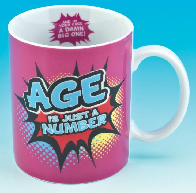 Inside Out Mug - Age is Just a Number MU3104