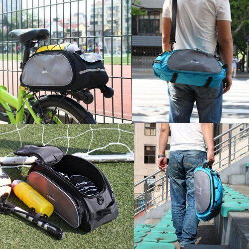 Roswheel Cycling Rear Pannier Handbag Bike Rack Bag Bicycle Seat Cargo Pack