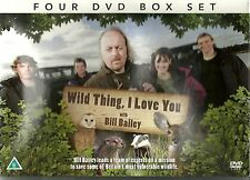WILD THING I LOVE YOU WITH BILL BAILEY 4 DVD GIFT SET WILDLIFE Deer Badger owls