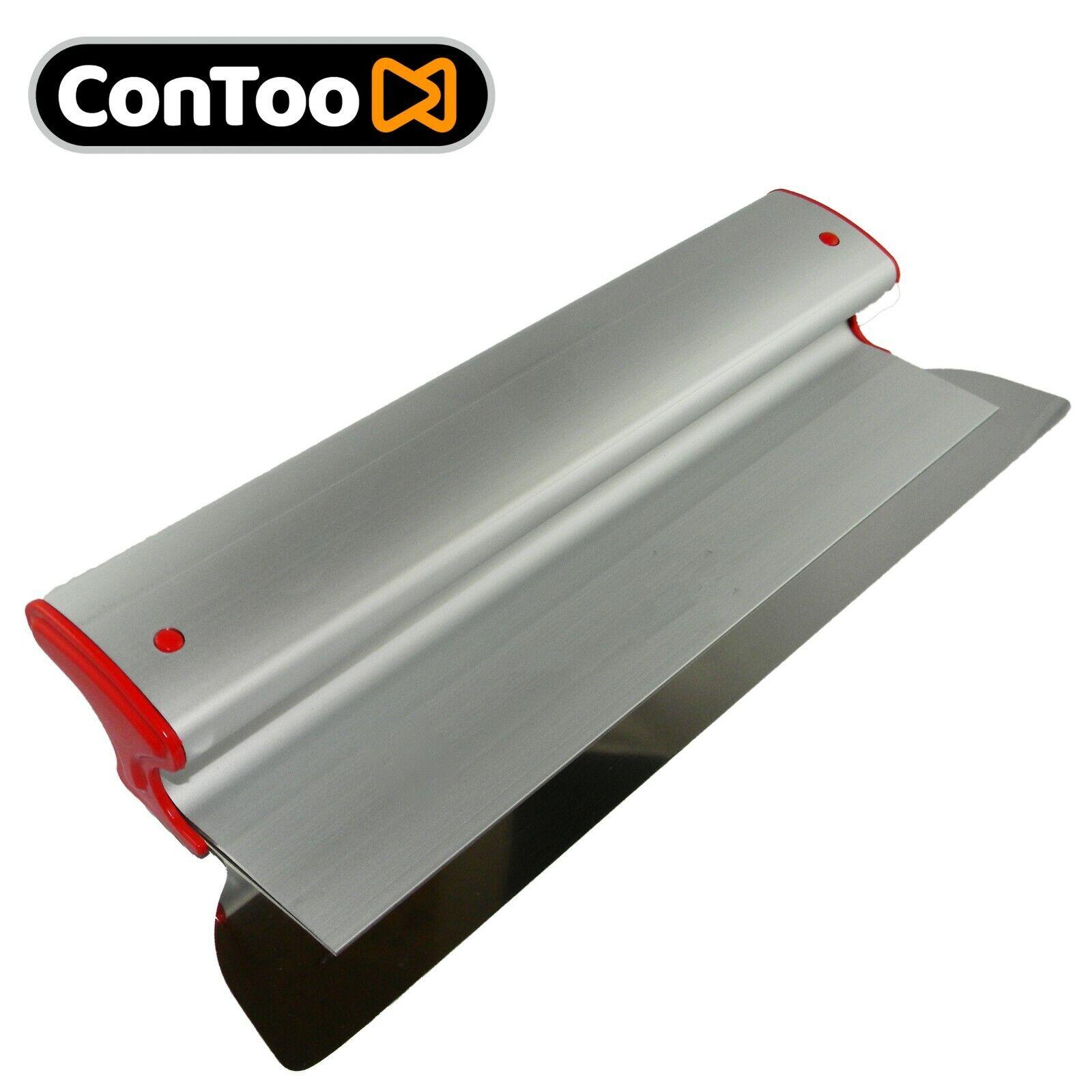 Drywall Skimming Flexible Blade Tool 250x0.3mm Stainless Steel Ergo Alu Profile