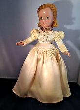 """Madame Alexander VINTAGE 1950's LUCY BRIDE 14"""" HARD PLASTIC WENDY ANN"""
