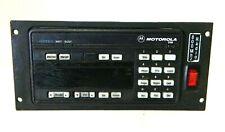 Motorola Astro Spectra Control Head Plate Systems 9000 Hcn1078f With Bracket 2