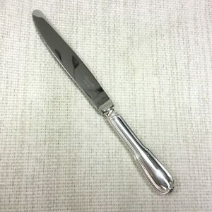 Christofle-Chinon-Silver-Plated-Large-Table-Knife-New-Unused-Cutlery-Flatware
