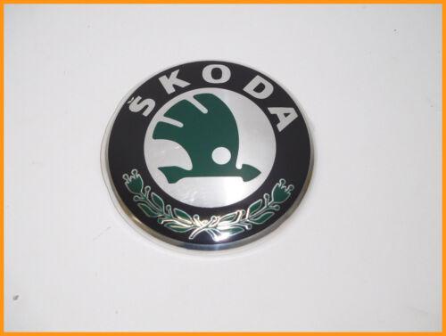 Skoda Superb 2008-2013 avant//arrière badge emblème 3T0853621A-Diamètre 89 mm