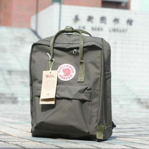 Unisex Womens Backpack Fjallraven Kanken Travel Shoulder School Bag 7L//16L//20L