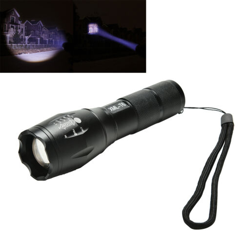 Ultrafire A100 2000 Lumens Zoom-able Cree XML-T6 LED Flashlight Torch 5 Modes JC