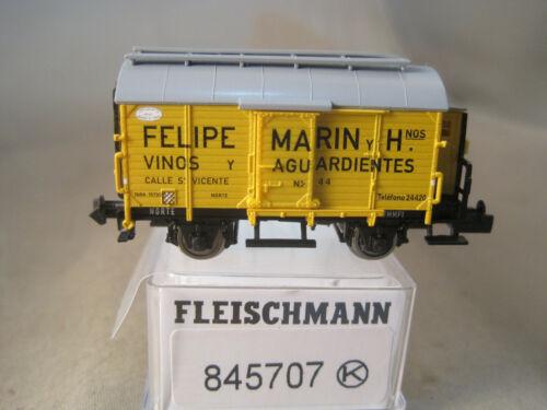 Fleischmann N  schöner Güterwagen für Sammler   wie neu mit OVP  845707K