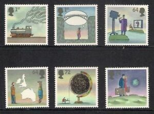 GB-2007-Commemorative-Stamps-World-of-Invention-2nd-Unmounted-Mint-Set-UK-Seller