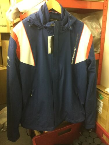 Motorsport Motorrad Lined Blue New Size M Jacket Unisex Bmw A5gqdwqv