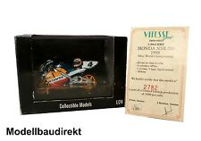 Repsol Honda NSR 500 Alex Criville Nr. 4 1998 mit Helm 1:24 Vitesse Limited Edi.