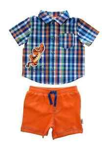 f38f7581e Image is loading Disney-Infant-Boys-Tigger-Bounce-Champion-Plaid-Shirt-