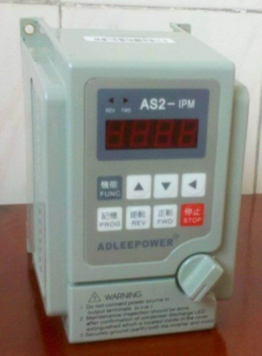 ADLEEPOWER ingreener AS2-115 AS2-IPM 1.5KW 2HP 220V New K4