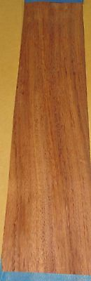 "African Etimoe wood veneer 4"" x 21"" with no backing (raw veneer) 1/42"" thickness"