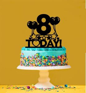 Prime 8Th Birthday Cake Topper 8 Years Old Eighth Ebay Funny Birthday Cards Online Inifodamsfinfo