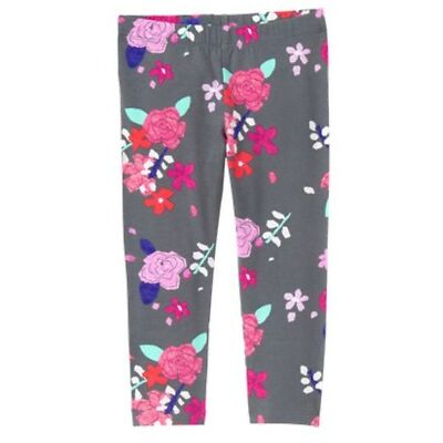 Nwt Gymboree Tea Time Afternoon Pink Yellow Floral Casual Capris Spring Clothing, Shoes & Accessories
