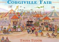 Corgiville Fair by Tasha Tudor c1998, VGC Hardcover