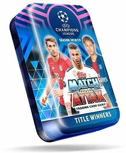 Match Attax Champions League 2018-2019 Tin Box Title Winners