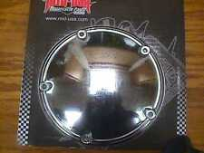 CHROME PRIMARY 5 HOLE DOMED DERBY COVER fits 1999-2006 DYNA, FLT, FLHR, SOFTAIL