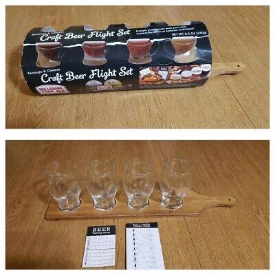 New Hillshire Farm Craft Beer Tasting Flight Set W Drop